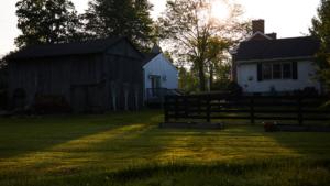 lawn view of the inn
