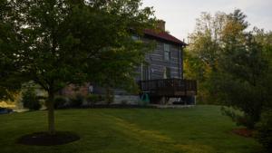 rear view of the inn
