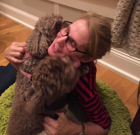 jen with dogs